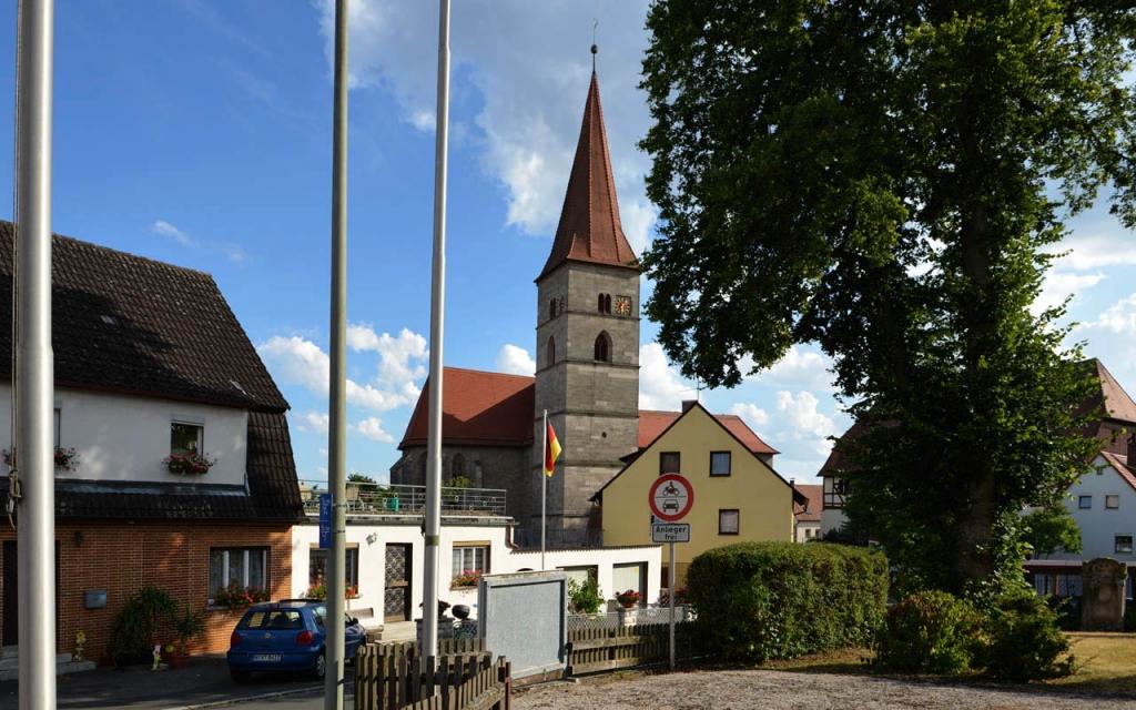 Die Klosterkirche Münchaurach