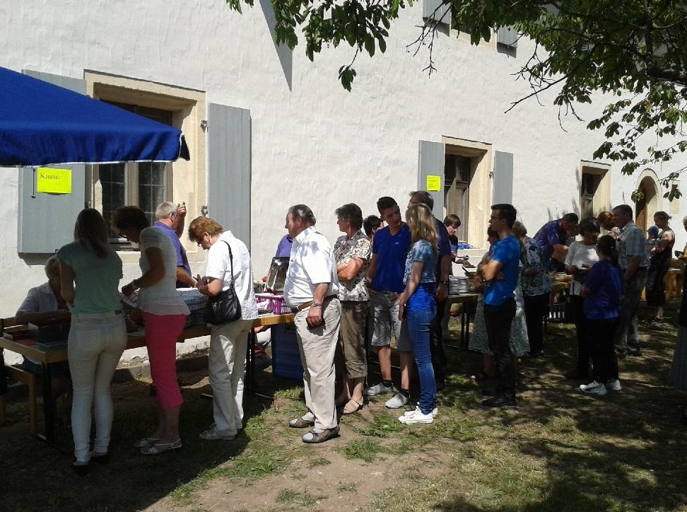 Mittagessen Gemeindefest